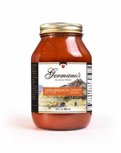 Germano's Arrabbiata Spicy Tomato Pasta Sauce Perspective: front