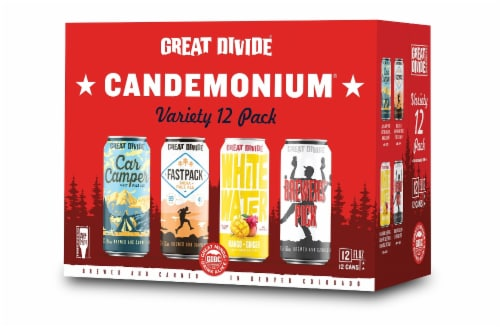 Great Divide Brewing Co. Candemonium Variety Pack Perspective: front