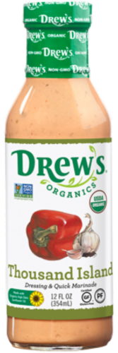 Drew's Organic Thousand Island Dressing Perspective: front