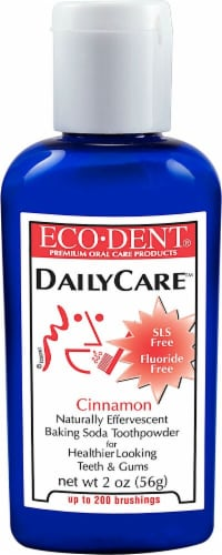 Eco-dent  DailyCare Toothpowder   Cinnamon Perspective: front