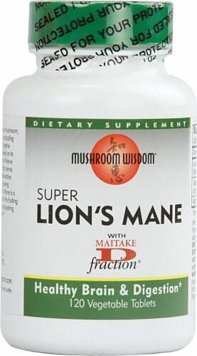 Mushroom Wisdom  Super Lion's Mane Perspective: front