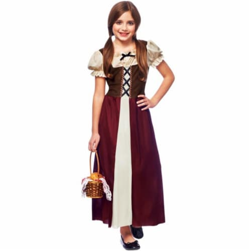 Costume Culture 49463-S Peasant Girl Child Costume, Small Perspective: front