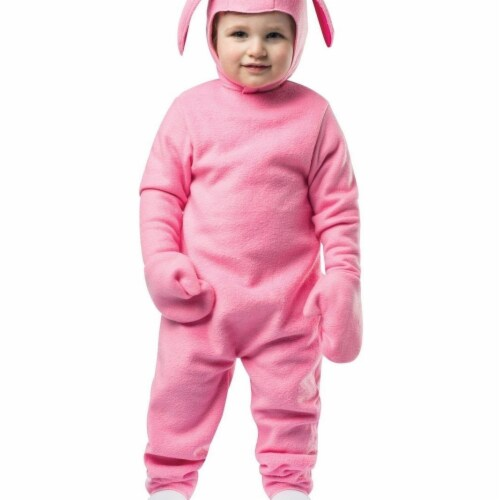 Rasta 248876 Christmas Bunny Toddler Costume Perspective: front