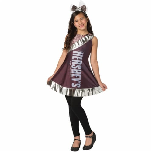 Morris Costumes GC3577 Hersheys Bar Child Dress, Size 7-10 Perspective: front