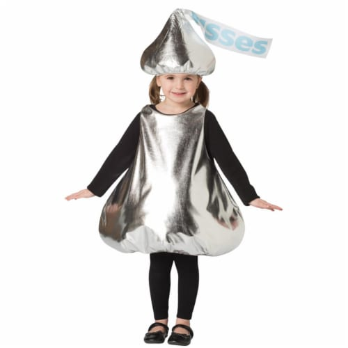 Morris Costumes GC358036 Hersheys Kiss Child Costume, Size 3-6 Perspective: front