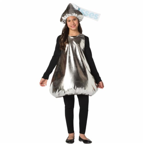 Morris Costumes GC3580710 Hersheys Kiss Kids Child Costume, Size 7-10 Perspective: front