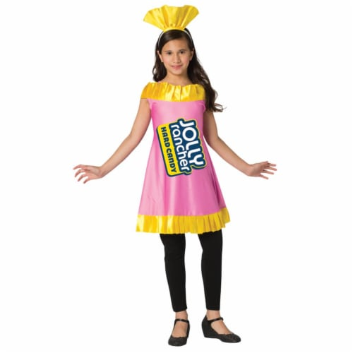 Morris Costumes GC3599710 Childs Watermelon Jolly Rancher Costume, Size 7-10 Perspective: front