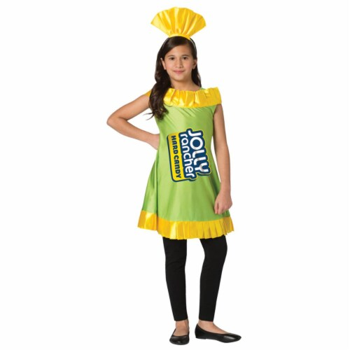 Morris Costumes GC3600710 Childs Apple Jolly Rancher Costume, Size 7-10 Perspective: front