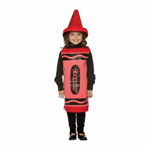 Costumes For All Occasions GC450501 Crayola Child 4-6X - Red Perspective: front