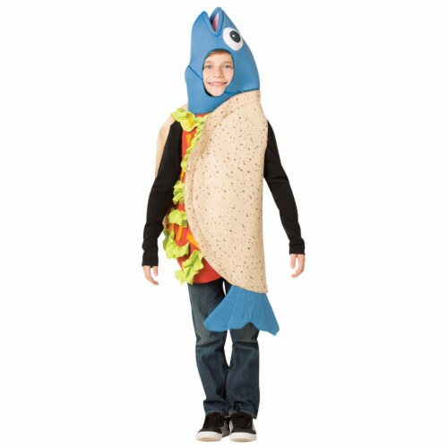 Rasta Imposta GC6130710 Child Fish Taco Costume - Size 7-10 Perspective: front