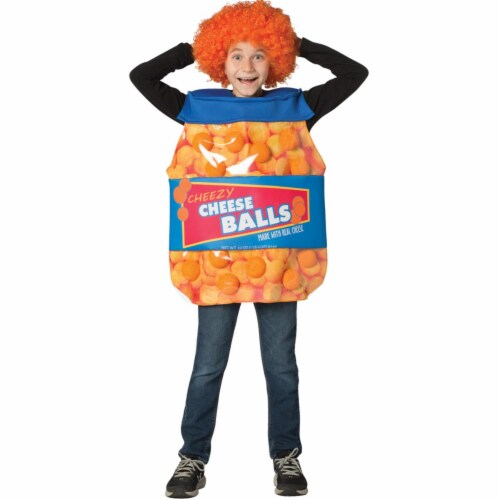 Morris Costumes GC6206710 Cheeseballs Child Costume, Size 7-10 Perspective: front