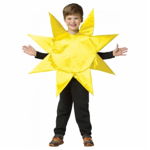 Rasta Imposta GC630346 4-6x Sunny Day Child Costume Perspective: front