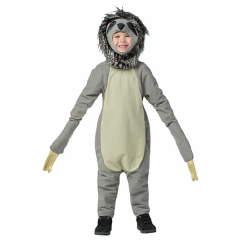 Morris GC654146 Sloth Child Costume, Size 4-6X Perspective: front