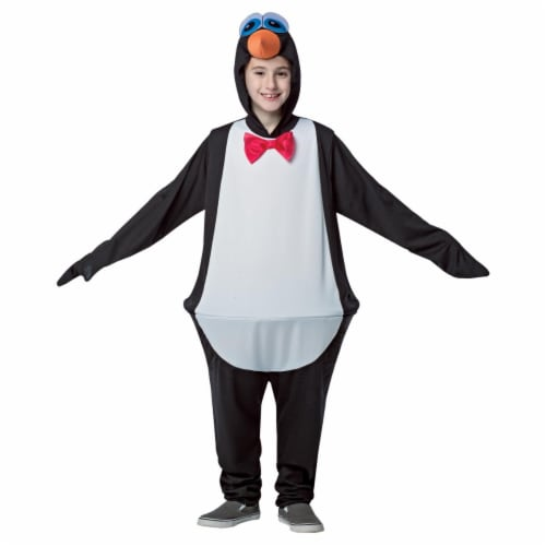 Morris Costumes GC6624710 Child Penguin Hoopster, 7-10 Perspective: front