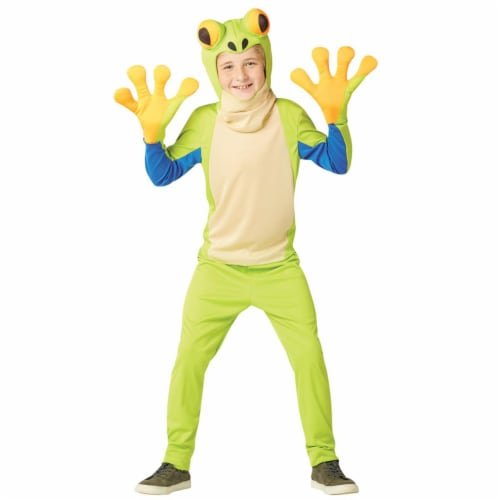 Rasta Imposta GC6713710 Child Tree Frog Costume, Size 7-10 Perspective: front