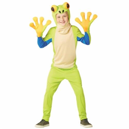 Rasta Imposta GC6713710 Child Tree Frog Costume, Size 7-10 Perspective: front
