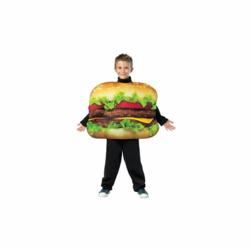 Costumes For All Occasions GC7084710 Cheeseburger Size 7-10 Perspective: front