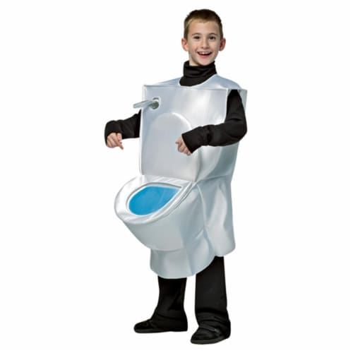 Morris GC7239710 7-10 Kids Toilet Costume, One Size Perspective: front