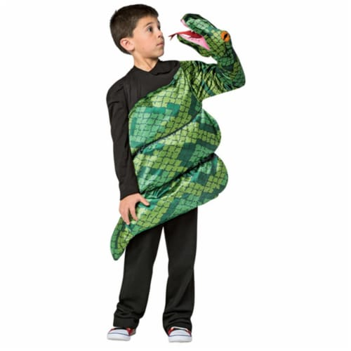 Morris GC7895710 Childs Anaconda Snake Costume, Size 7-10 Perspective: front