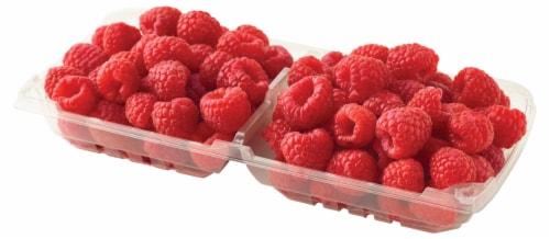 Raspberries Perspective: front
