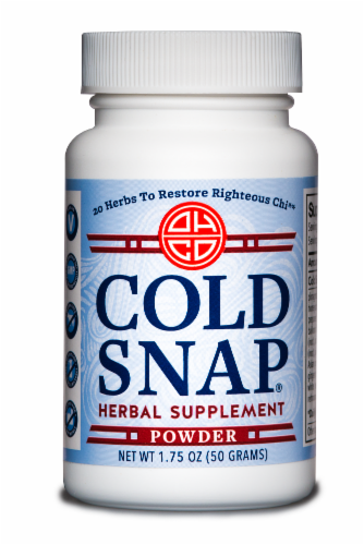 Oriental Herb Company Cold Snap Herbal Supplement Powder Perspective: front
