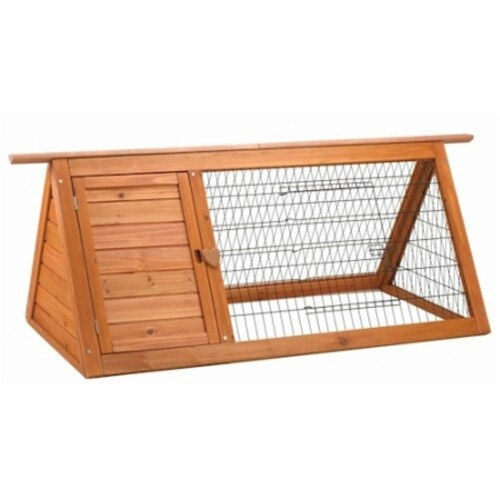 Premium Plus Backyard Small Animal Hutch Perspective: front