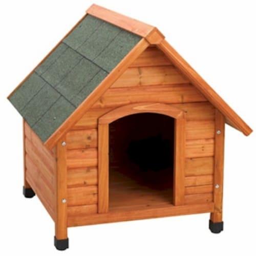 Premium Plus A-Frame Dog House - Medium Perspective: front