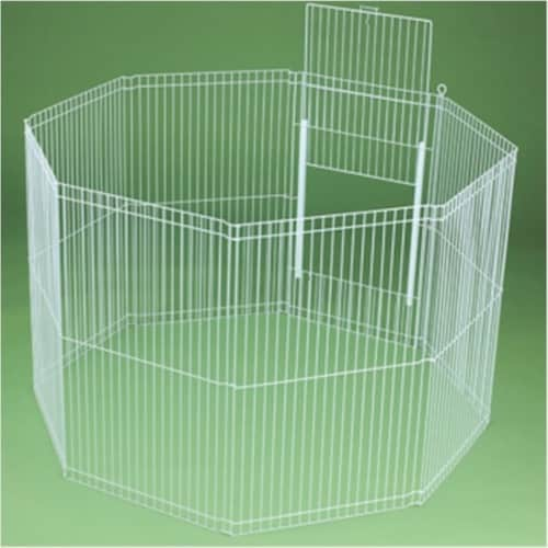 Clean Living Small Animal Playpen Perspective: front