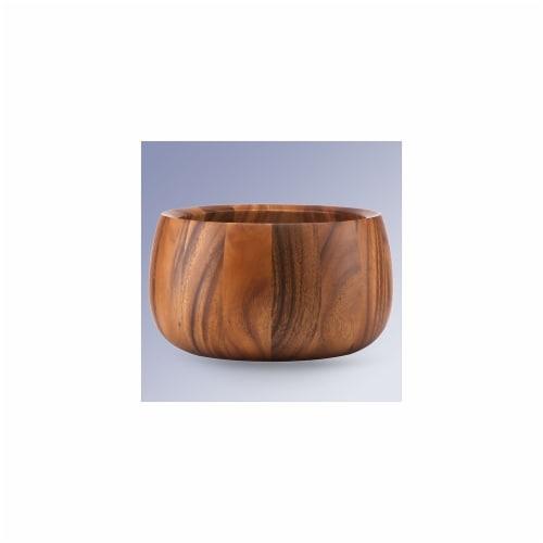 Lenox Wood Classics Tulip Salad Bowl Perspective: front