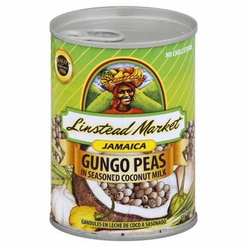 Linstead Market Jamaica Gungo Peas in Seasoned Coconut Milk Perspective: front