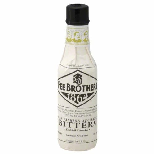 Fee Brothers Old Fashion Bitters Perspective: front
