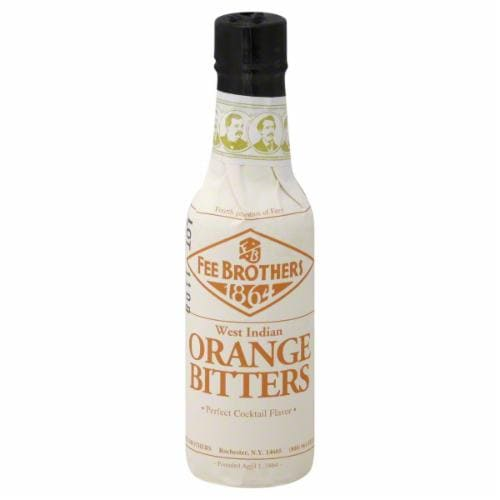 Fee Brothers Orange Bitters Perspective: front