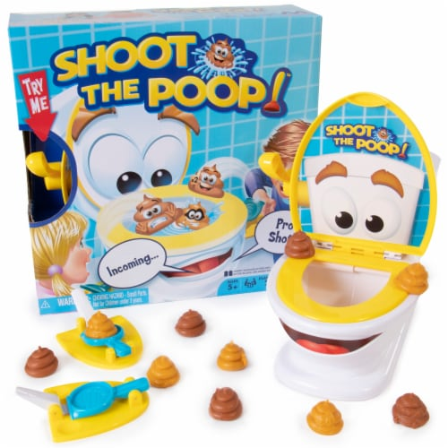 Shoot the Poop! Perspective: front