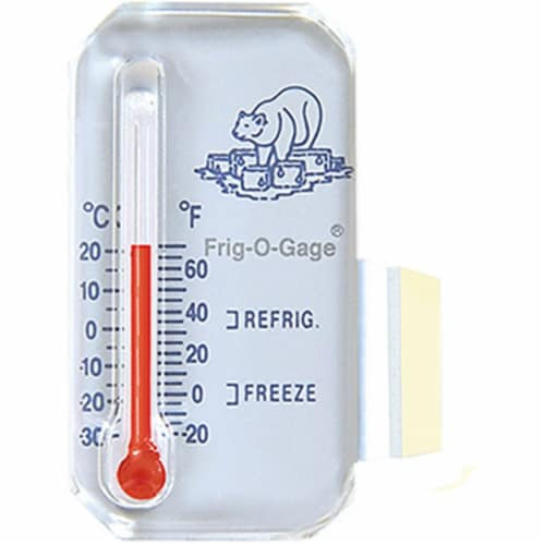 Sun 370671 Frig-O-Gage Refrigerator & Freezer Thermometer Perspective: front