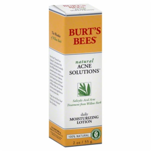 Burt's Bees Acne Moisture Lotion Perspective: front