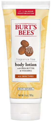 Burt's Bees Shea Butter & Vitamin E Lotion Perspective: front