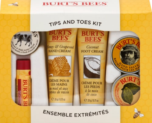 Burt's Bees Tips & Toes Kit Perspective: front