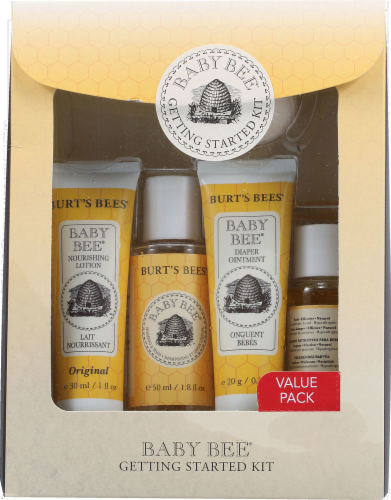 Burt's Bees Baby Bee Getting Started Kit Perspective: front