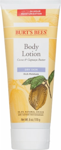 Burt's Bees Cocoa & Cupuacu Butter Lotion Perspective: front