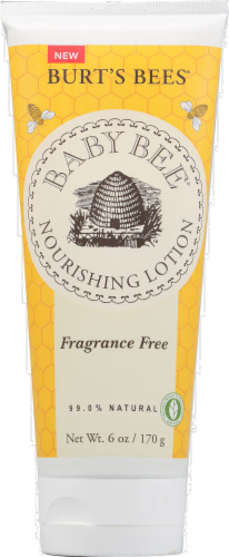 Burt's Bees Baby Bee Fragrance Free Nourishing Lotion Perspective: front
