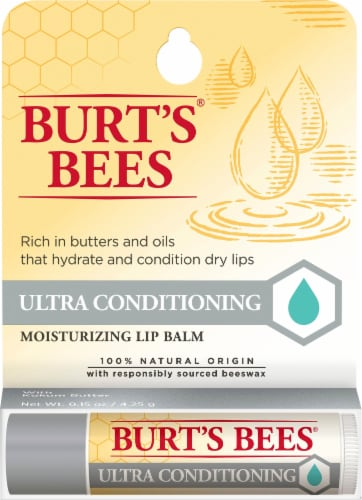 Burt's Bees Ultra Conditioning Lip Balm Perspective: front