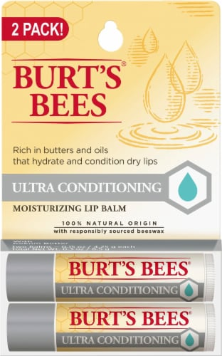 Burt's Bees Ultra Conditioning Lip Balm with Kokum Butter Perspective: front