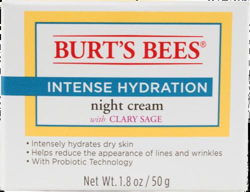 Burt's Bees Intense Hydration Night Cream Perspective: front