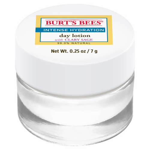 Burt's Bees Intense Hydration Day Lotion with Clary Sage Perspective: front