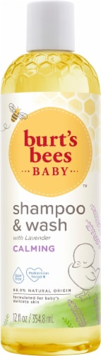 Burt's Bees Baby Bee Calming Shampoo and Wash Perspective: front
