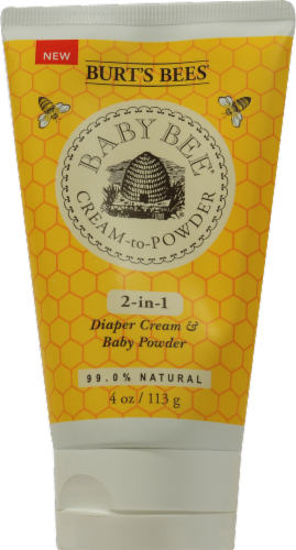 Burt's Bees Baby Bee Cream to Powder Perspective: front