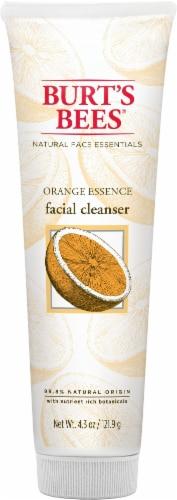 Burt's Bees Orange Essence Facial Cleanser Perspective: front
