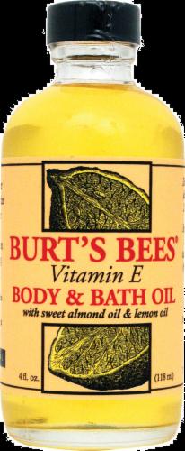 Burt's Bees Lemon & Vitamin E Oil Perspective: front