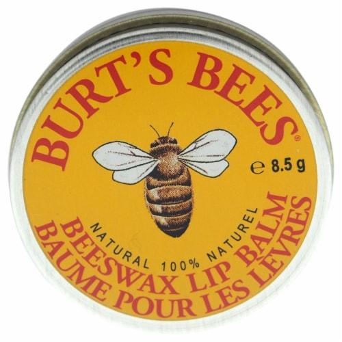 Burt's Bees Beeswax Lip Balm Perspective: front