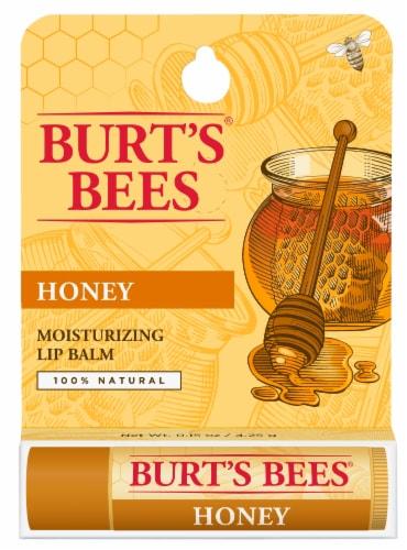 Burt's Bees Honey Lip Balm Perspective: front